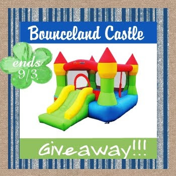 Bouncy House, Inflatables Giveaway, Bounceland Castle, Jumpy