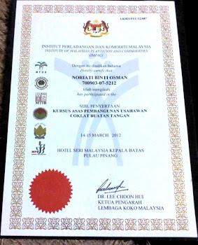 LKM/UPUC/12/087 (Lembaga Koko Malaysia)