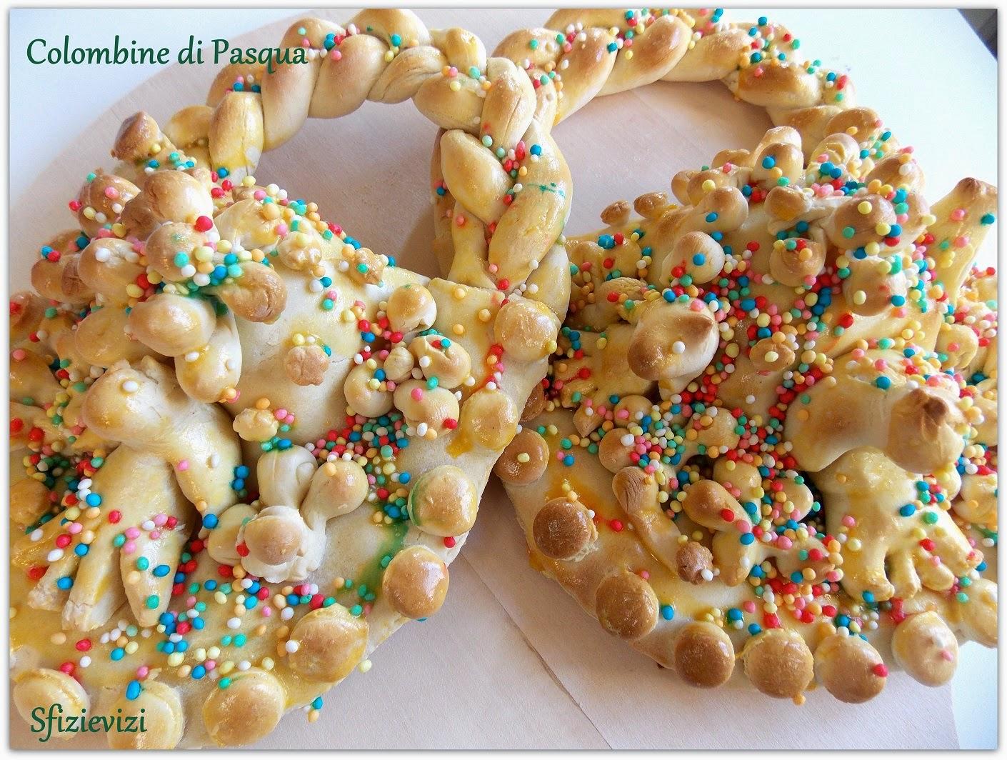 colombine di pasqua: il cake design di un secolo fa per il cestino di pasta di pane dolce e uovo sodo