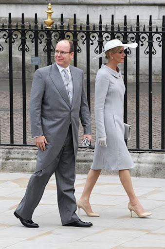 Принц Албер II от Монако и годеницата му Шарлийн Уитсток ще се женят през август 2011