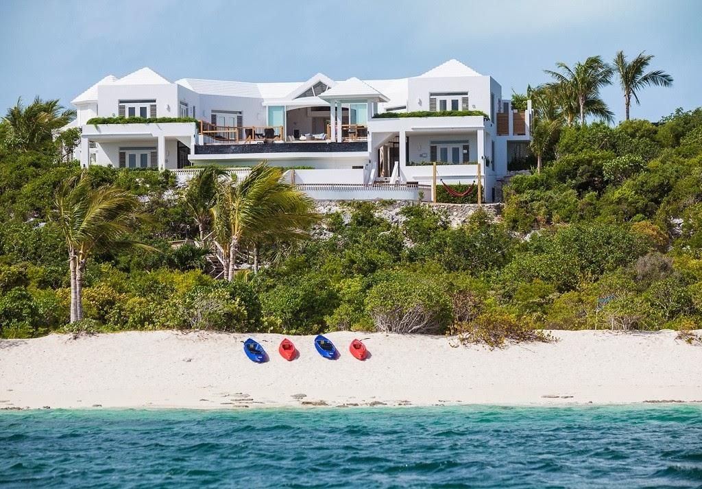 Luxury life design babalua beach villa turks and caicos for Beach villa design