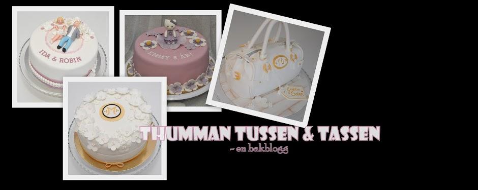 Thumman, Tussen och Tassen - En bakblogg