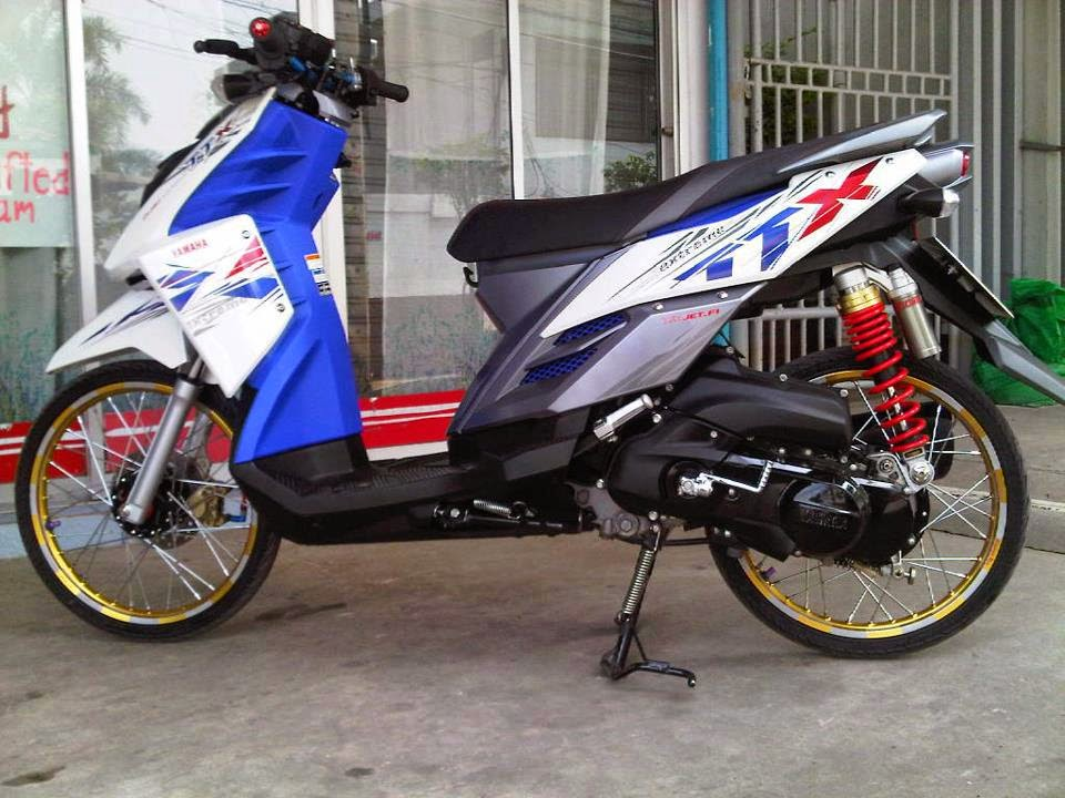 referensi modifikasi motor mio x ride