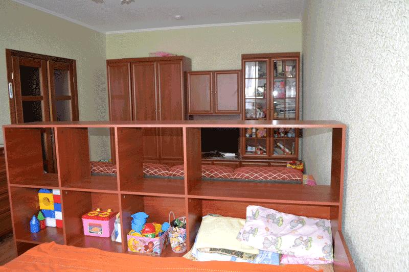 Перестановка  в квартире - вид со стороны окна