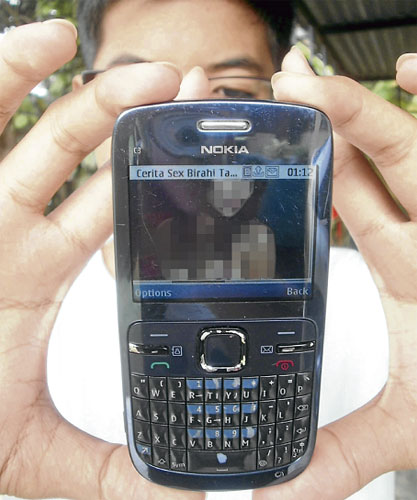 Gelora Remaja Kini Cerpen Panas Telefon Bimbit