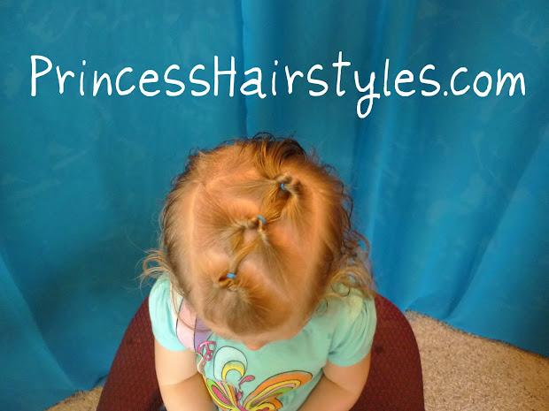 diagonal flipunders toddler hairstyle