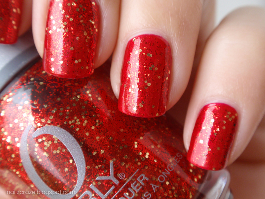 Orly devil may care nailz craze orly devil may care over essie jag u are red glitter prinsesfo Choice Image