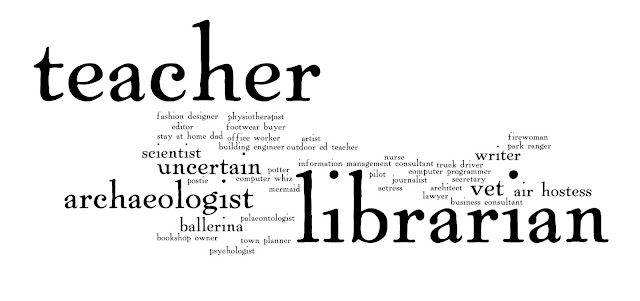 Childhood career dream responses from library staff