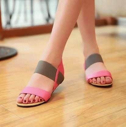 Sendal Cewek Sendal Cewek Sweet Pink 01