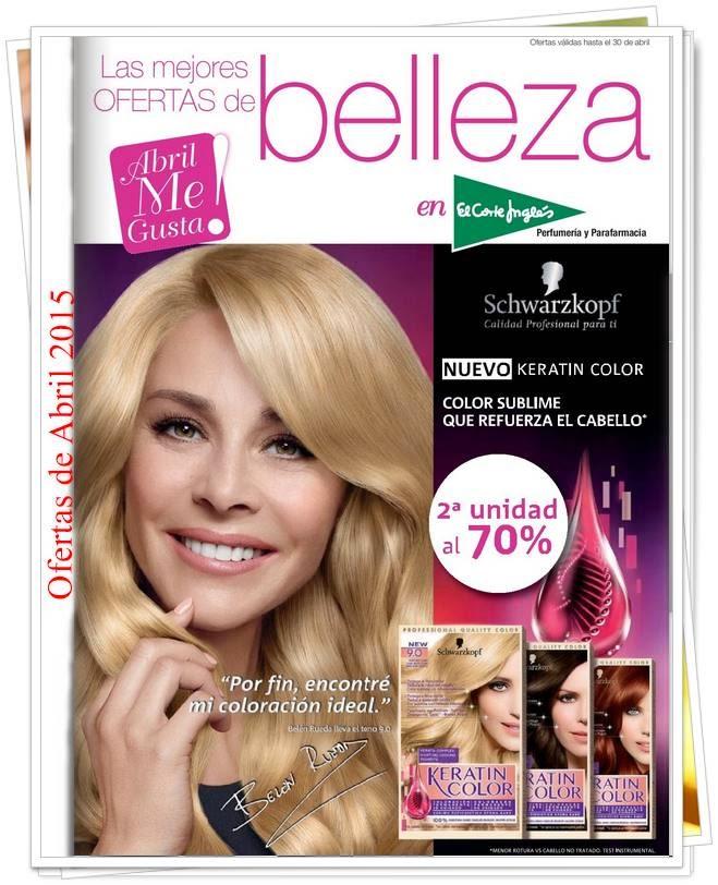 ofertas de Belleza El Corte Ingles Abril 2015