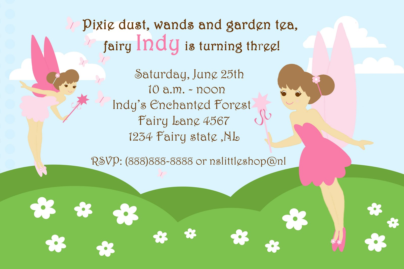 nslittleshop party decorations and more: Fairy and Pirate Girls