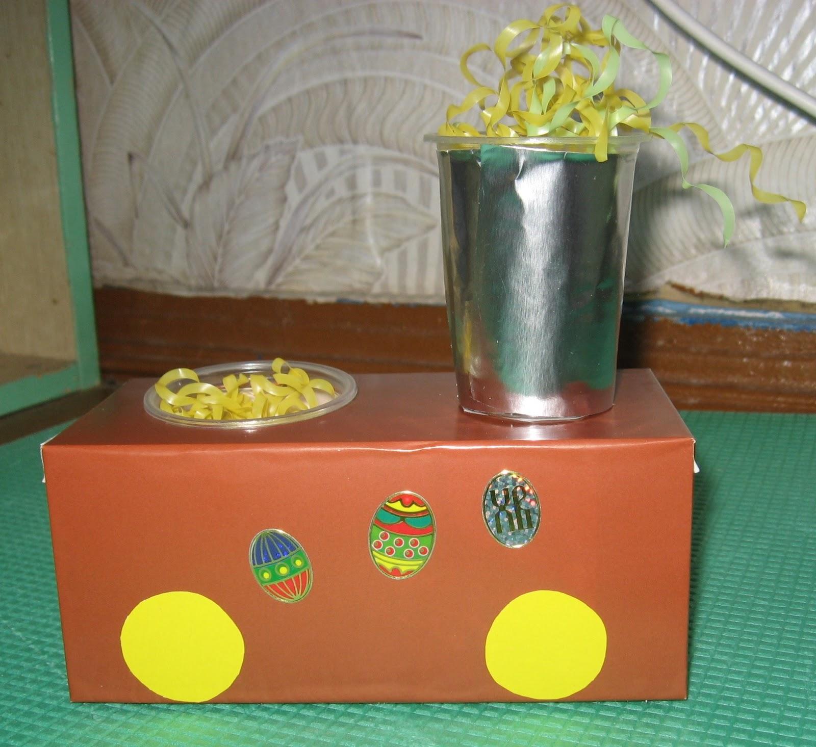 Бросовый материал поделки из коробок