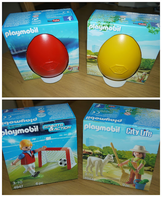 Playmobil, easter eggs