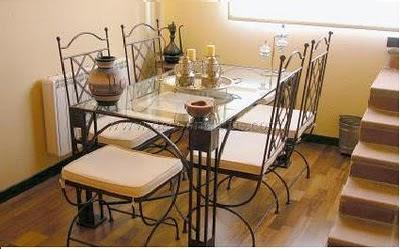 Estilo en muebles hierro forjado decoracion de cocinas for Muebles de fierro forjado