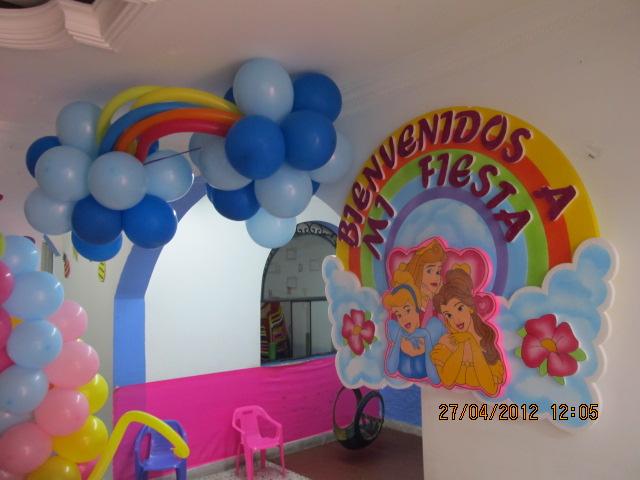 Decoracion de fiestas infantiles de princesas car - Decoracion fiesta princesas disney ...