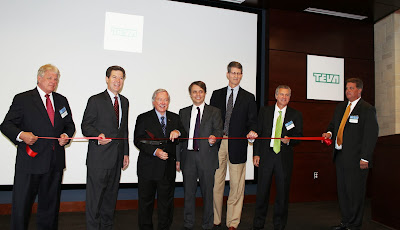 BRES Cuts the Ribbon for Teva Headquarters