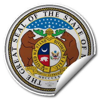 Sticker of Missouri Seal