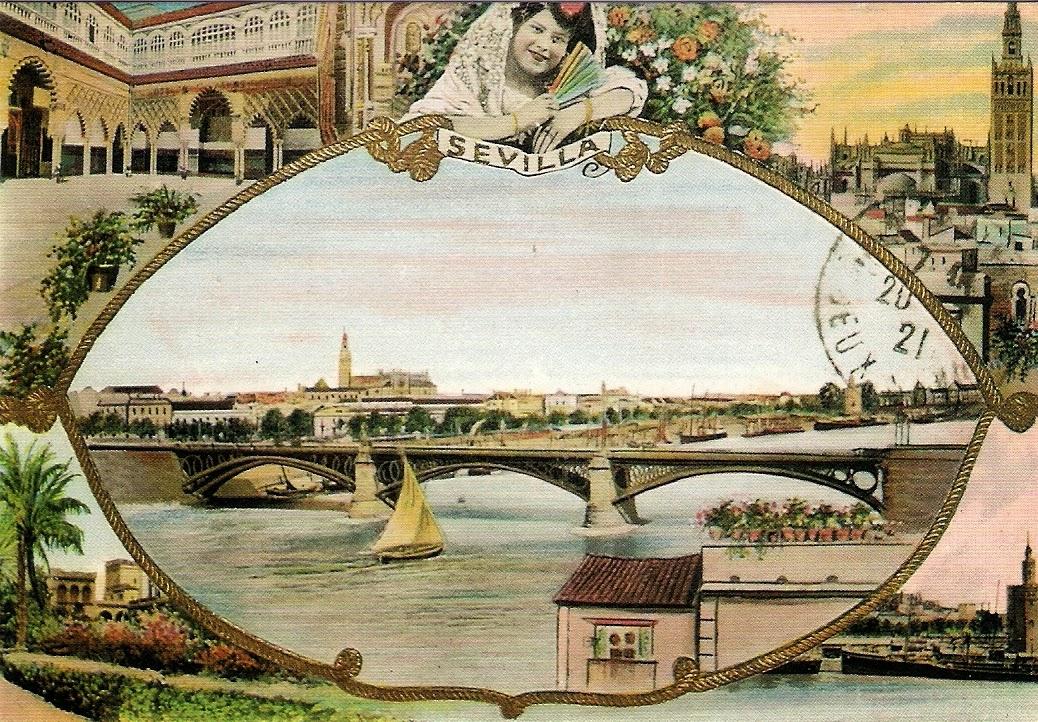 Fotos y postales antiguas de sevilla fotos antiguas de for Casa de citas malaga