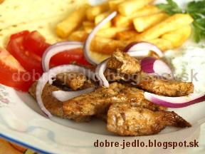 Grécky gyros - recepty