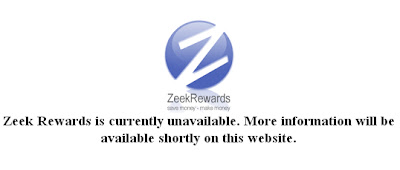 zeekrewards and zeekler offline, zeekRewards shutdown