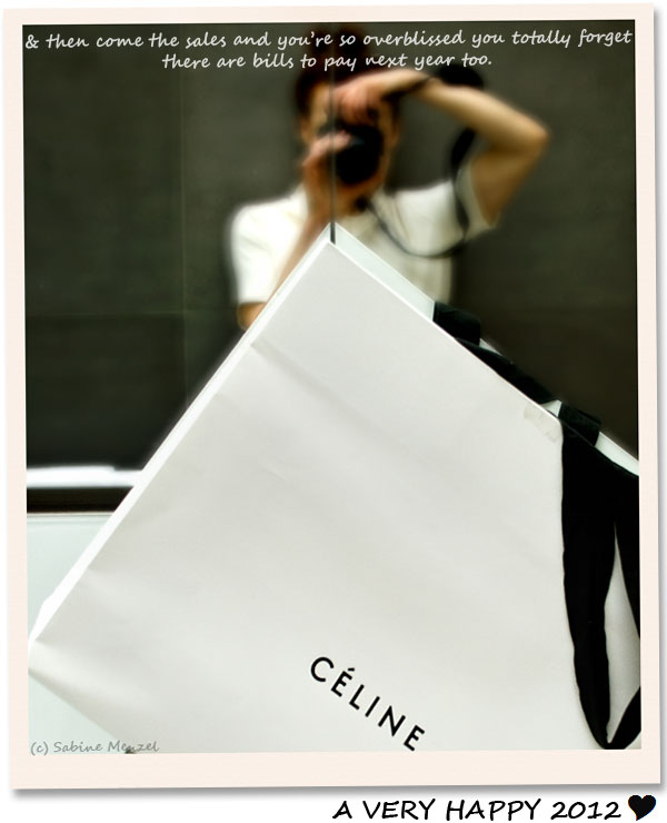 Psynopsis Christmas Celine Bag