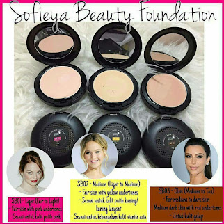SOFIEYA BEAUTY FOUNDATION - Glam & Glow