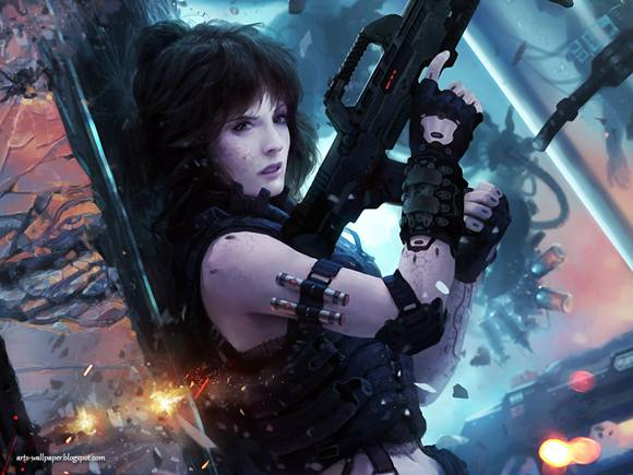 CG Art Wallpaper Marek Okon Artwork 10