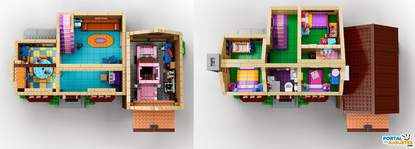 los simpsons lego casa