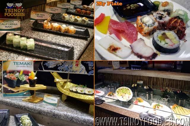 sashimi sushi maki nirigi temaki