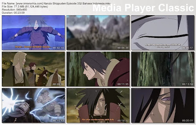 "Download Film / Anime Naruto Episode 332 ""Tekad Batu"" Shippuden Bahasa Indonesia"