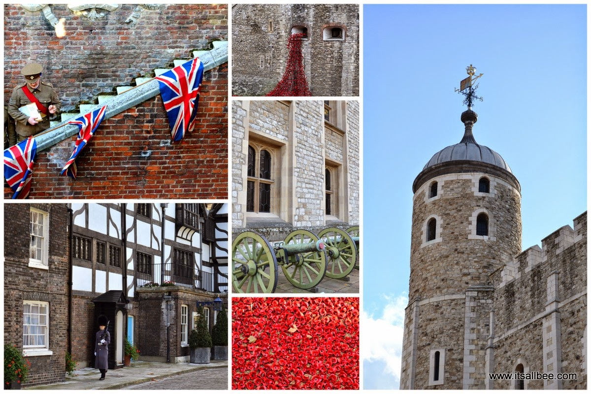 Tower of London: Blood Swept Lands and Seas of Red to commemorate the life of fallen British London Poppies