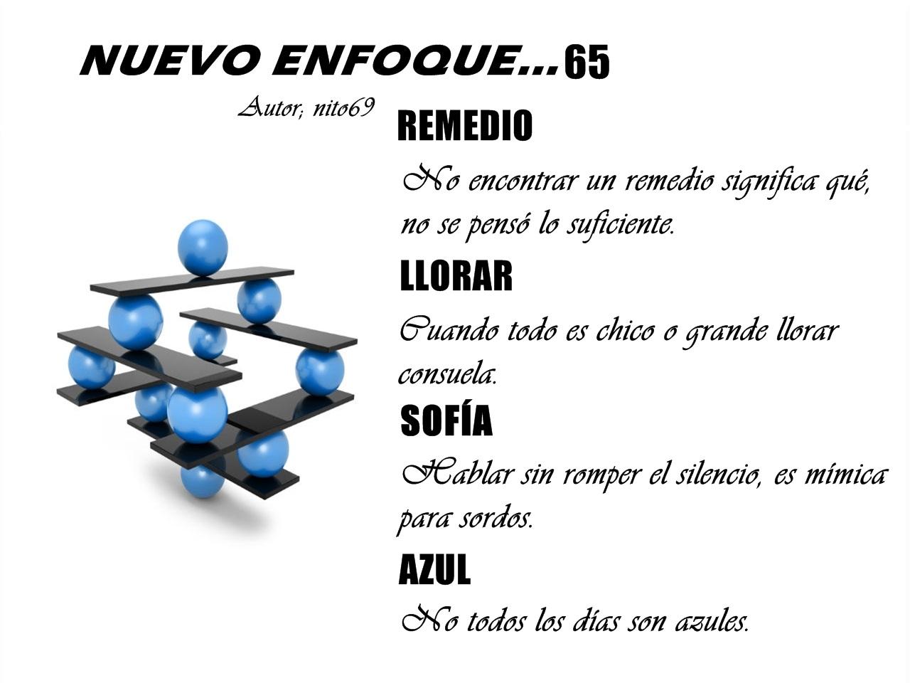 NUEVO ENFOQUE…65