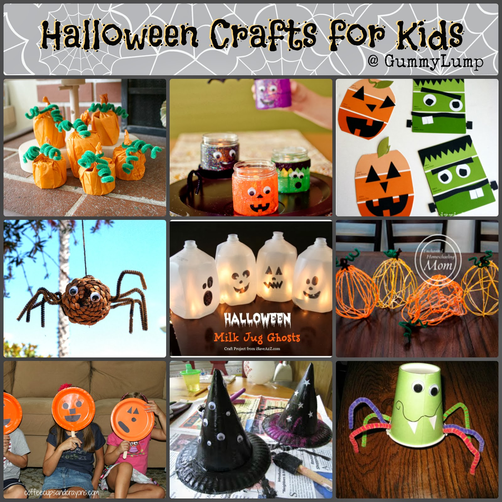 Kids Halloween Crafts Pinterest