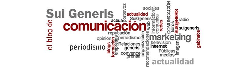 El blog de Sui Generis Comunicación