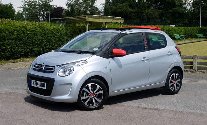 Citroen C1 Airscape front view