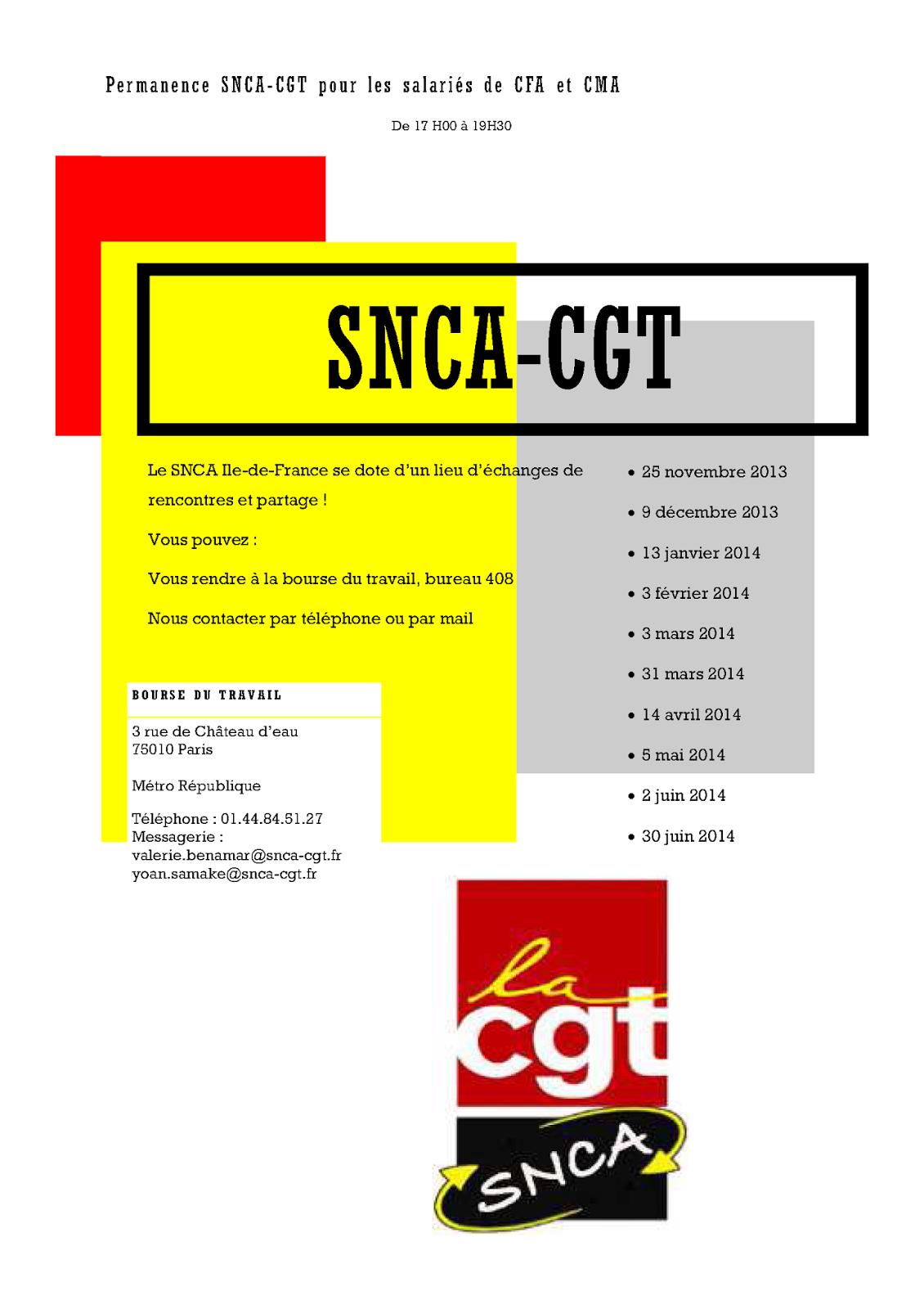 Le blog du snca cgt consulaires et apprentissage une for Chambre consulaire apprentissage