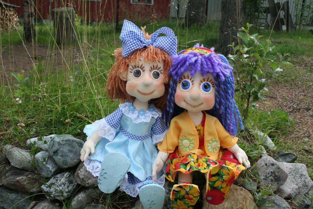 игровые текстильные куклы-карамельки Нины Эриксон