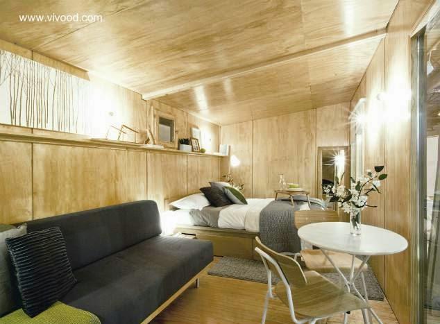 Arquitectura de casas caba as de madera transportables en - Cabanas de madera en madrid ...