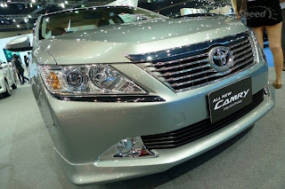 new toyota camry 2012