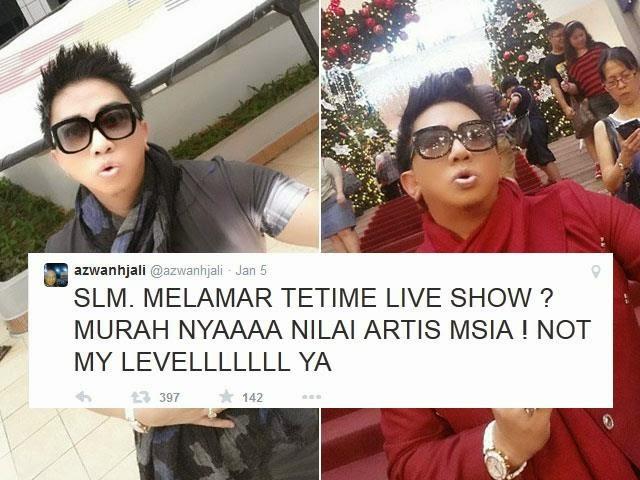 Melamar Secara Live Di TV Buktikan Artis Malaysia Murahan!, info, terkini, hiburan, sensasi, kontroversi, gossip,azwan ali, hairul azreen, hanis zalikha
