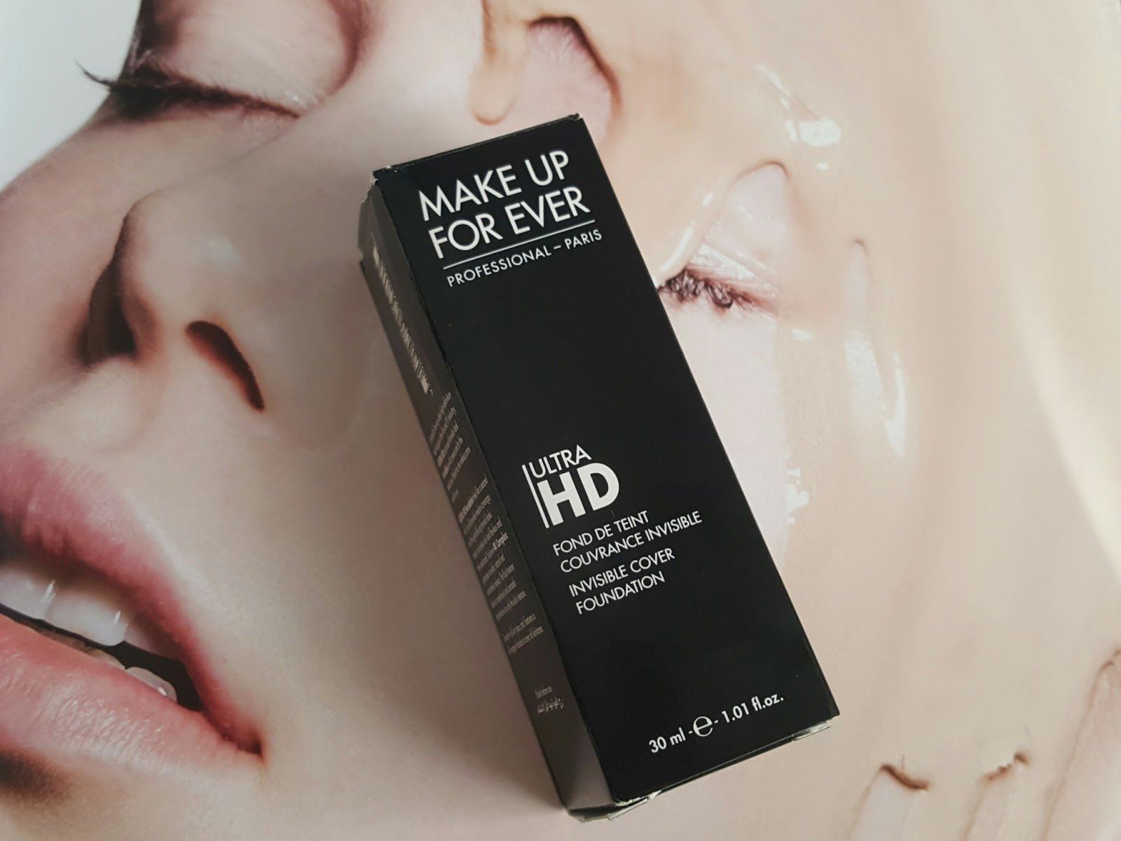 First thing that you notice, especially if you have used the old HD foundation, is that the lid is a lot more secure. The old foundation had a very loose ...