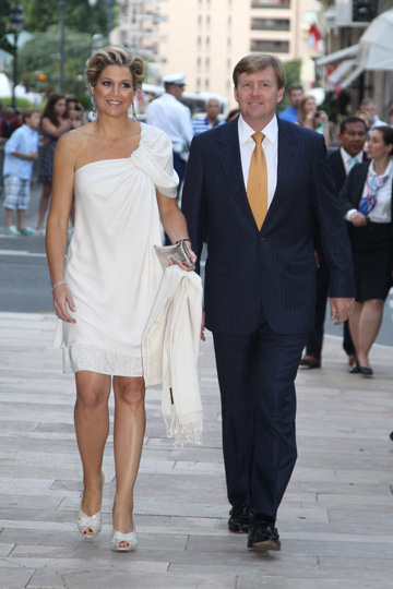 royal fashion minute monaco concert for prince albert ii