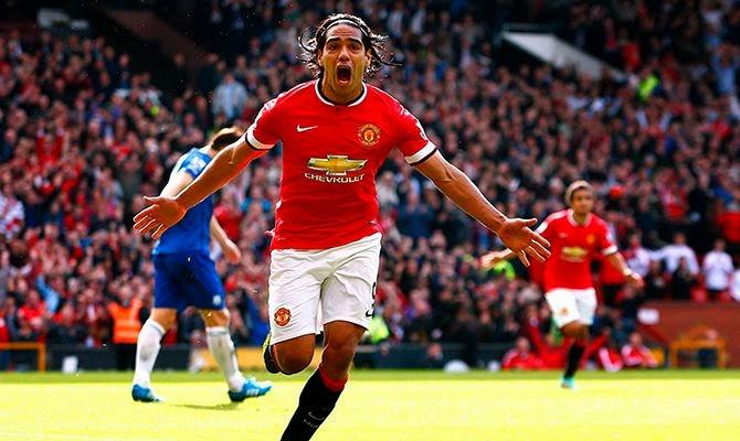 Falcao gol contra el Everton