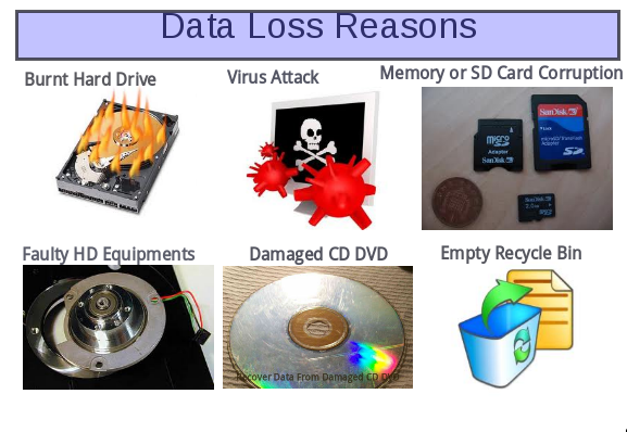 Data Loss Reasons 