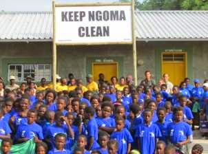 Camp Chobe - Keep Ngoma Clean