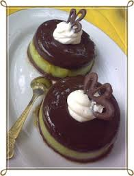 resep puding coklat alpukat legit