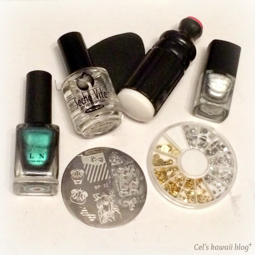 Born pretty store silver stamping polish