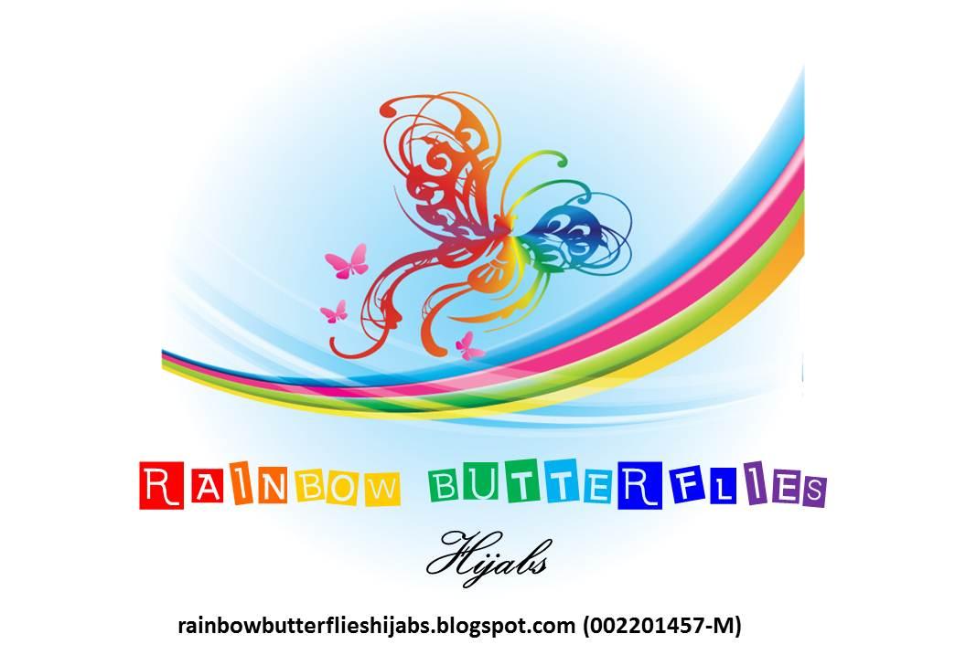 Rainbow butterfly logo - photo#27