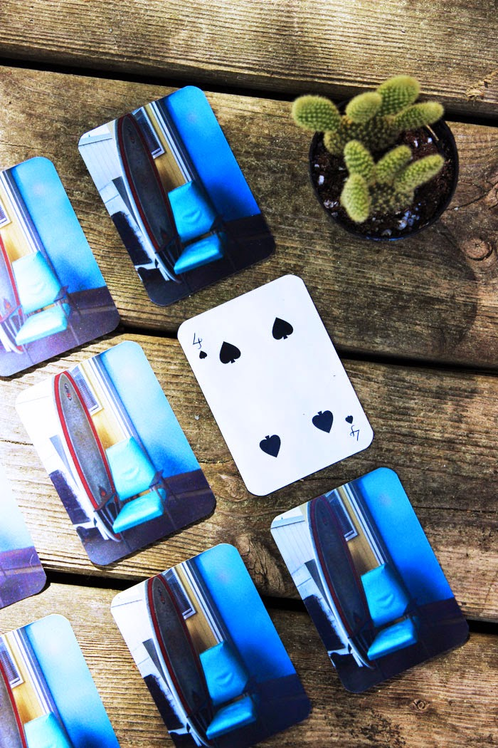 Father's Day DIY | Custom Photo Playing Cards