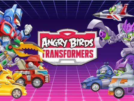 Angry Birds Transformers sudah tersedia di untuk Android